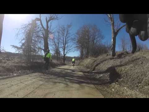 2015 Founders Barry Roubaix Killer Gravel Road Race 24 mile Chiller