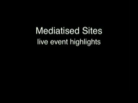 mediatised sites perfrmance festival