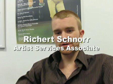 dance-tech.net presents: Connecting DTW Members/ Interview with Richert Schnorr