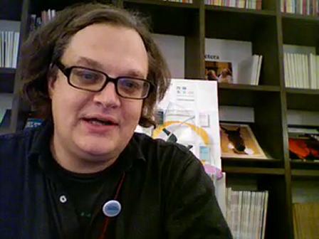 Philippe Franck director festival Transnumériques -Belgium-Dic'08