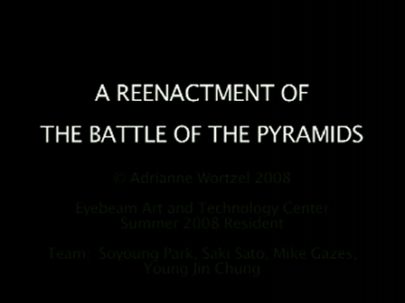 Re-Enactment of the Battle of the Pyramids