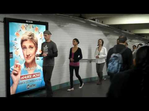 InterAct: Public Meditation in NYC Subway