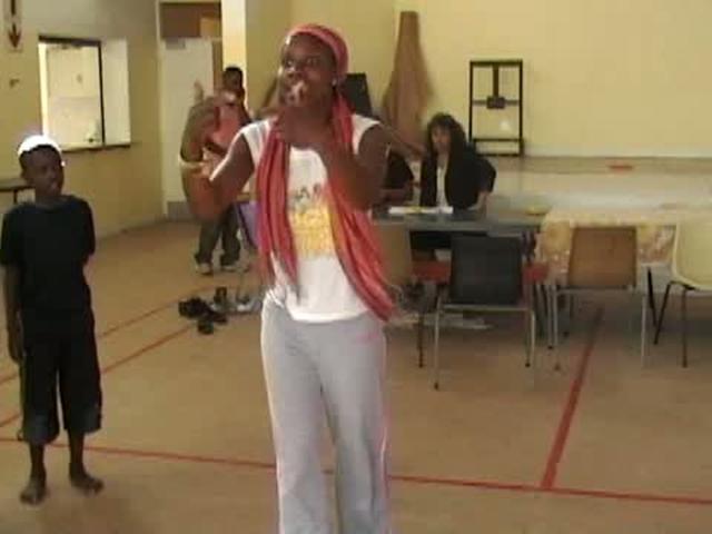 Nigerian Vera Ephraim teaching In South Africa