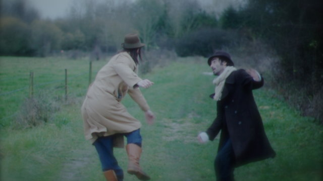 "The Ballet of Sam Hogue and Augustus Benjamin broadcast ""Walk"""