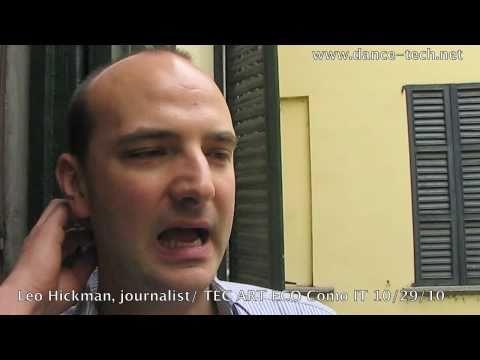 TEC ART ECO Festival:  Leo Hickman (Eco and ethical living journalist/The Guardian), Como Italy