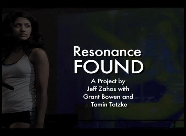 Resonance FOUND
