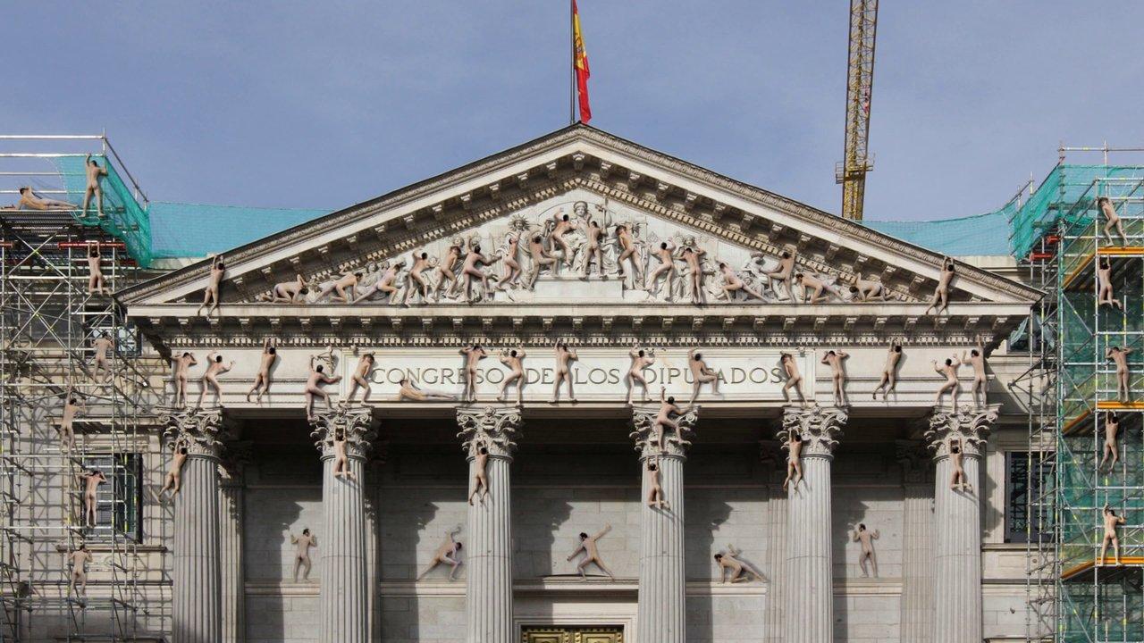 The Humping Pact: Spanish Parliament (Congreso de los Diputados)