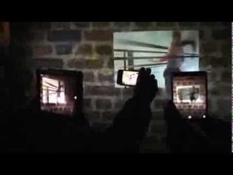 AffeXity: Passages & Tunnels (2013) @ Re-New Digital Arts Festival, Copenhagen. Oct 2013
