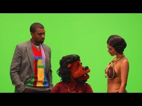 Behind the Scenes | Kanye, Rhymefest, Kim Kardashian Puppet TV Show