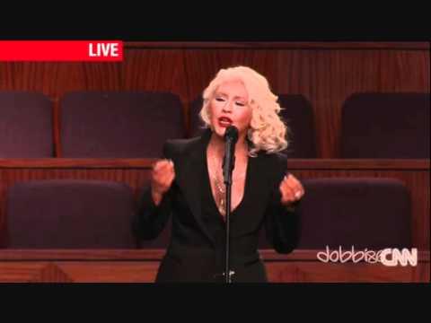 Christina Aguilera - At Last [Etta James Funeral]