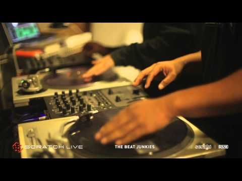 The Beat Junkies in the Studio with Serato