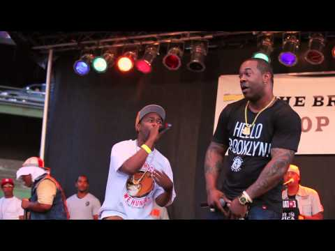 Busta Rhymes, Leaders Of The New School & A Tribe Called Quest || Scenario || 2012 Brooklyn Hip Hop Festival