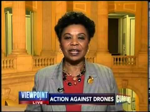 Rep. Barbara Lee Joins Current TV to Discuss Drones and Drone Warfare