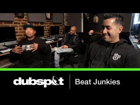The World Famous Beat Junkies @ Dubspot! Legendary DJ / Turntablist Crew Interview