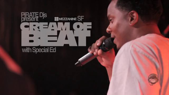 BackStage Pass :: Special Ed @ Cream of Beat
