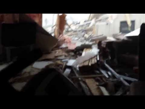 Man Keeps Filming As Tornado Destroys His House