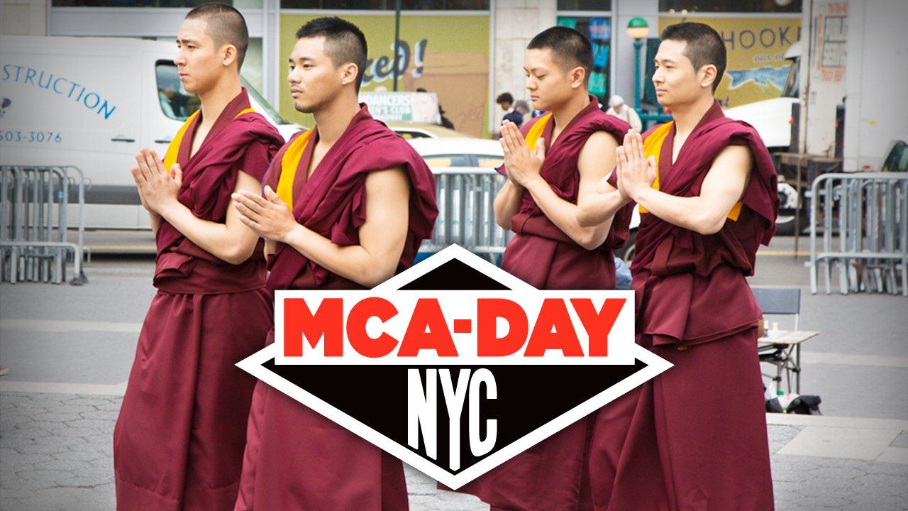 Breakdancing Monks Pay Tribute to Beastie Boy Adam Yauch