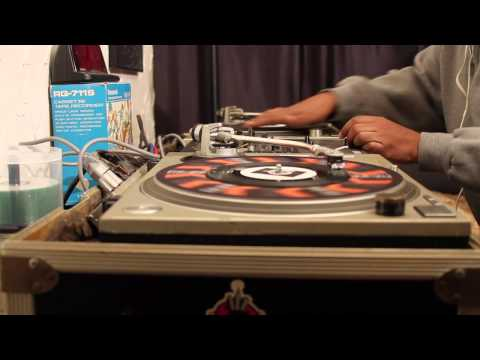 Watch 45 King Spin His Own Demo Beats via 45s (VIDEO)