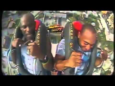 Even DMX Screams Like A Girl On The Slingshot Ride