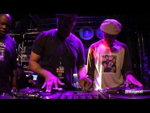 DJ Cash Money + DJ Scratch + Biz Markie = Turntable Foolishness