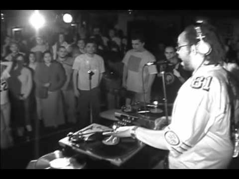 J Live Rapping and Beat Juggling Live at Storyville San Francisco (2000)