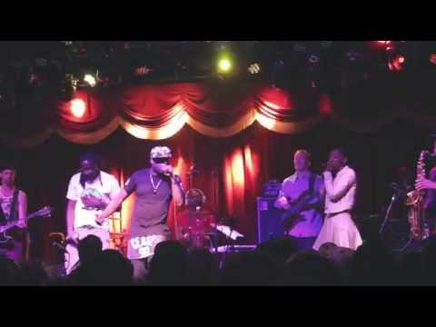 Talib Kweli Featuring Bajah & Res- Party Robot Live at Brooklyn Bowl