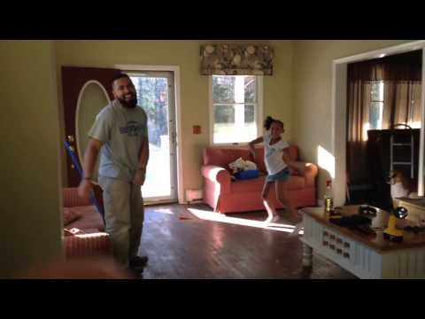 Watch: Daddy vs. Daughter Old-School Dance Battle