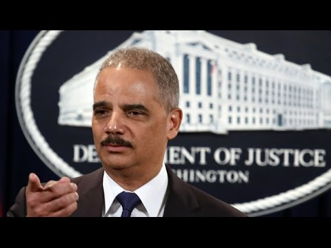 Matt Taibbi: Eric Holder Back to Wall Street-Tied Law Firm After Years of Refusing to Jail Bankers