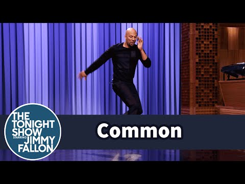 Common Busts Out Amazing Break Dance Moves