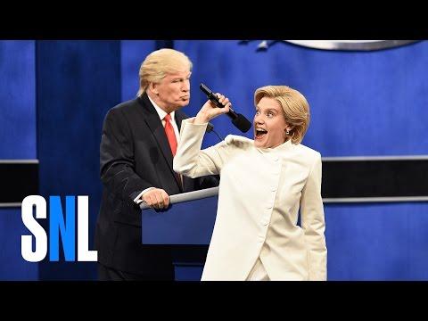 SNL's Hillary Clinton Destroys Donald Trump One Last Time
