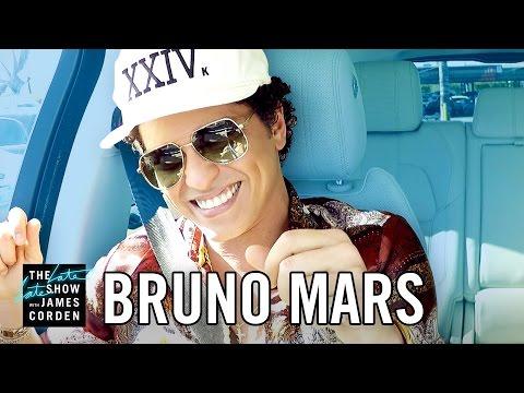 Bruno Mars Takes Over 'Carpool Karaoke'