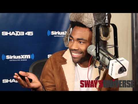"""Childish Gambino Spits Dope Freestyle Over Drake's """"Pound Cake"""" on Sway in the Morning"""