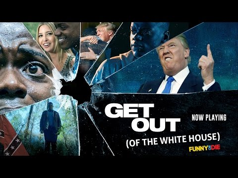 Funny Or Die Spoofs The Trump Family & Kanye West In 'Get Out (Of The White House)' Trailer (VIDEO)