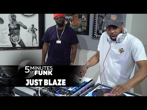 "Just Blaze Spins Classic Breakbeats With Funkmaster Flex on ""5 Minutes of Funk"""