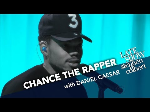 "Chance the Rapper Debuts ""First World Problems"" on The Late Show with Daniel Caesar"