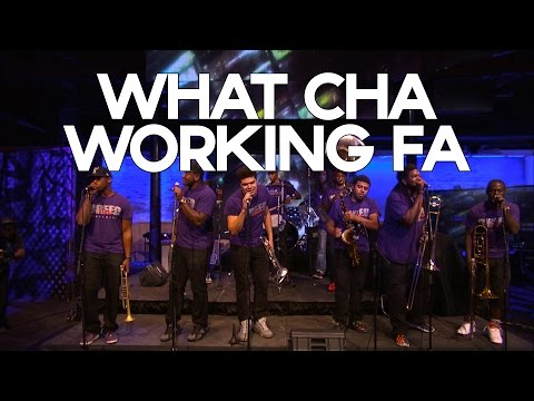 New Breed Brass Band - Whatcha Working Fa (New Orleans Live Ep06)