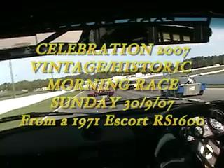 Vintage Race - Celebration 2007