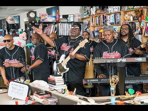 Trouble Funk: NPR Music Tiny Desk Concert (Video)