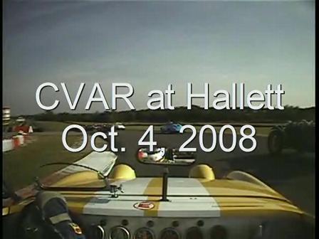 CVAR at Hallett