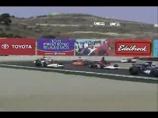 Vintage F1 cars at Laguna Seca 2008