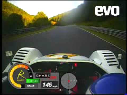OFFICIAL Radical Sportscars 2009 Nordschleife Record Lap by evo- with data!