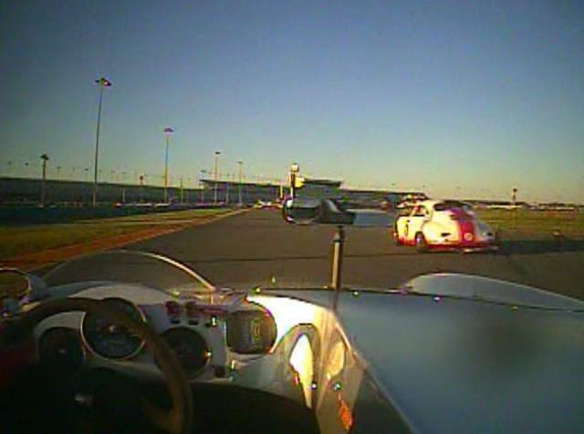 Skip Winfree's Porsche 356 at Rennsport III