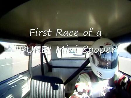 Pure Mini First Race