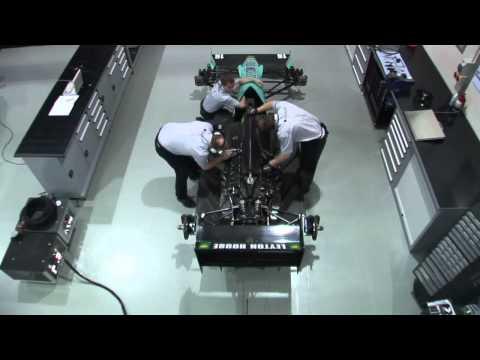 Leyton House CG901B Start Up Procedure