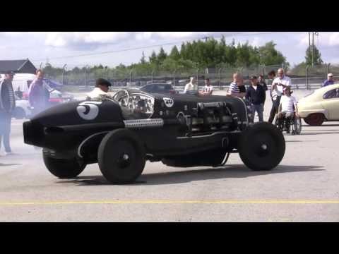 Monster Car on Sturup Racing Ground