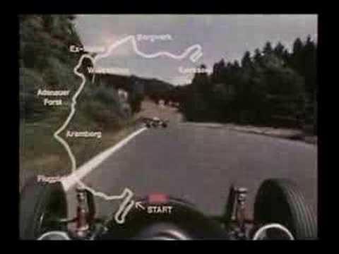 Nurburgring F1 1967 onboard