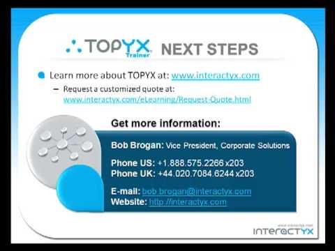 TOPYX Trainer: Corporate Training Solution
