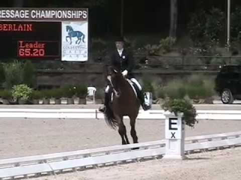 Catherine Chamberlain and Verdicci ~ U.S. National Championships 2010