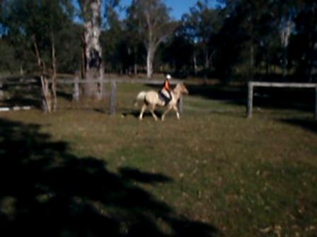 Benny and I No Hands Riding