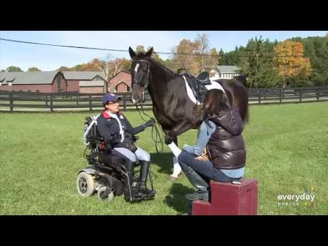 Horse Therapy for Multiple Sclerosis is Legitimate, Says Patient